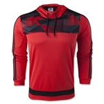 adidas Tiro 15+ Graphic Hoody (Red/Blk)