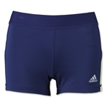 adidas Women's TechFit 3 Boy Short (Nvy/Yel)