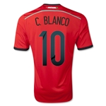 Cuauhtemoc Blanco Mexico 2014 Away Commemorative Jersey