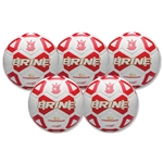 Brine Championship Ball-Five Pack-Red (Red)