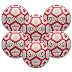 Brine Phantom Soccer Ball-Six Pack (Red)
