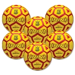 Brine Phantom Ball-Six Pack-Yellow/Red (Yl/Sc)