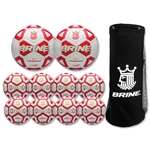 Brine Phantom Soccer Ball Bundle Pack (Red)