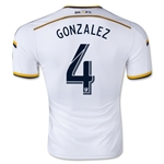 LA Galaxy 2015 GONZALEZ Authentic Home Soccer Jersey