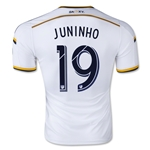 LA Galaxy 2015 JUNINHO Authentic Home Soccer Jersey