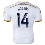 LA Galaxy 2015 ROGERS Authentic Home Soccer Jersey