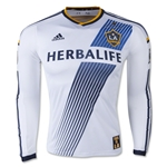 LA Galaxy 2015 LS Authentic Home Soccer Jersey