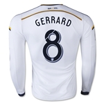 LA Galaxy 2015 GERRARD Jersey de Futbol Local Autentico ML