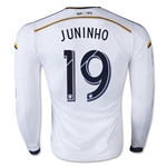 LA Galaxy 2015 JUNINHO LS Authentic Home Soccer Jersey