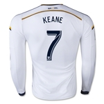 LA Galaxy 2015 KEANE LS Authentic Home Soccer Jersey