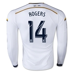LA Galaxy 2015 ROGERS LS Authentic Home Soccer Jersey