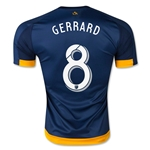 LA Galaxy 2015 GERRARD Authentic Away Soccer Jersey