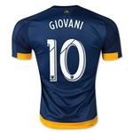 LA Galaxy 2015 GIOVANI Authentic Away Soccer Jersey