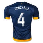 LA Galaxy 2015 GONZALEZ Authentic Away Soccer Jersey