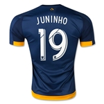 LA Galaxy 2015 JUNINHO Authentic Away Soccer Jersey