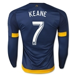 LA Galaxy 2015 KEANE LS Authentic Away Soccer Jersey