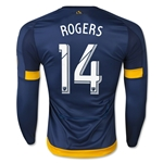 LA Galaxy 2015 ROGERS LS Authentic Away Soccer Jersey