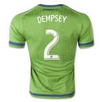 Seattle Sounders 2015 DEMPSEY Authentic Home Soccer Jersey