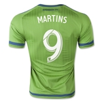Seattle Sounders 2015 MARTINS Authentic Home Soccer Jersey