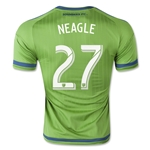 Seattle Sounders 2015 NEAGLE Authentic Home Soccer Jersey