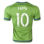 Seattle Sounders 2015 PAPPA Authentic Home Soccer Jersey