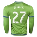 Seattle Sounders 2015 NEAGLE LS Authentic Home Soccer Jersey