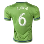 Seattle Sounders 2015 ALONSO Home Soccer Jersey