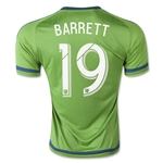 Seattle Sounders 2015 BARRETT Home Soccer Jersey