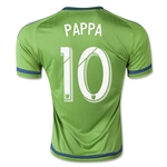 Seattle Sounders 2015 PAPPA Home Soccer Jersey