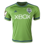 Seattle Sounders 2015 Home Soccer Jersey w/ CCL Patch