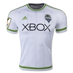 Seattle Sounders 2015 Authentic Away Soccer Jersey w/ CCL Patch