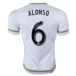 Seattle Sounders 2015 ALONSO Away Soccer Jersey