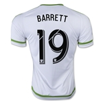 Seattle Sounders 2015 BARRETT Away Soccer Jersey