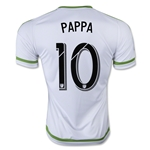 Seattle Sounders 2015 PAPPA Away Soccer Jersey
