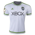 Seattle Sounders 2015 Away Soccer Jersey w/ CCL Patch