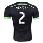 Seattle Sounders 2015 DEMPSEY Authentic Third Soccer Jersey
