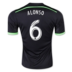 Seattle Sounders 2015 ALONSO Third Soccer Jersey