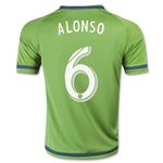 Seattle Sounders 2015 ALONSO Youth Home Soccer Jersey