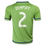 Seattle Sounders 2015 DEMPSEY Youth Home Soccer Jersey
