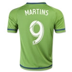 Seattle Sounders 2015 MARTINS Youth Home Soccer Jersey