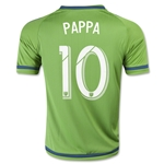 Seattle Sounders 2015 PAPPA Youth Home Soccer Jersey