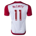 New York Red Bulls 2015 MCCARTY Home Soccer Jersey