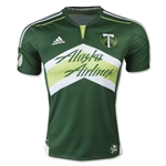 Portland Timbers 2015 Authentic Home Soccer Jersey