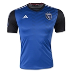 San Jose Earthquakes 2015 Authentic Home Soccer Jersey