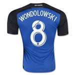 San Jose 2015 WONDOLOWSKI Authentic Home Soccer Jersey