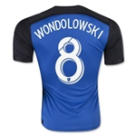 San Jose Earthquakes 2015 WONDOLOWSKI Home Soccer Jersey