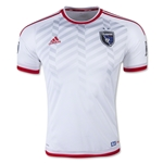 San Jose Earthquakes 2015 Authentic Away Soccer Jersey