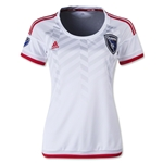 San Jose Earthquakes 2015 Women's Away Soccer Jersey