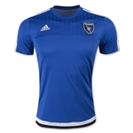 San Jose Earthquakes 2015 Pregame Training Jersey