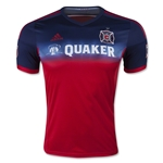 Chicago Fire 2015 Authentic Primary Soccer Jersey